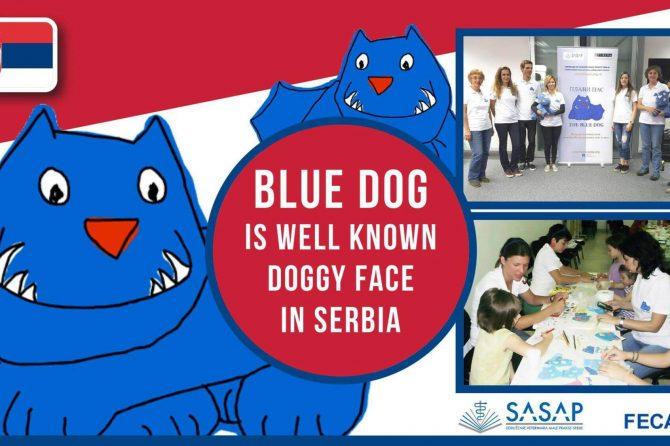 Bluedog in Serbia