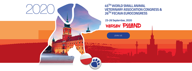 45th WSAVA Congress & the 26th FECAVA EuroCongress & 28th PSAVA Congress 2020