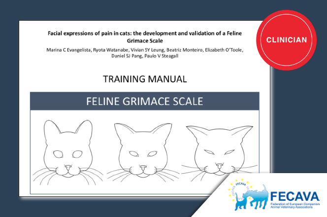 Facial expressions of pain in cats: the development and validation of a Feline Grimace Scale