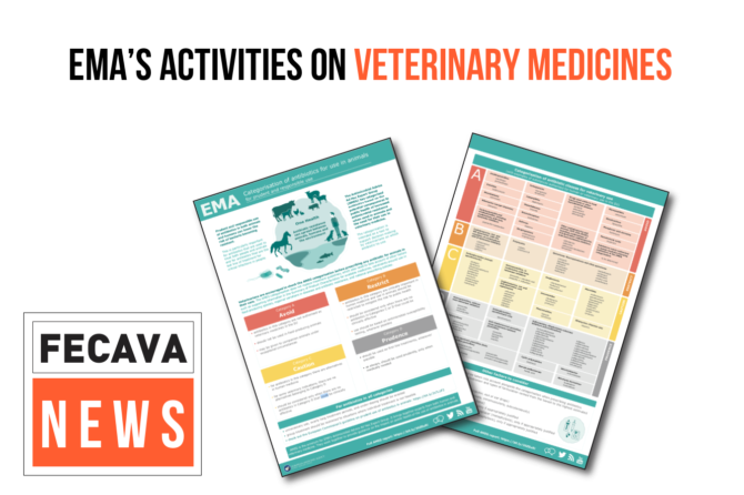 EMA's activities on veterinary medicines
