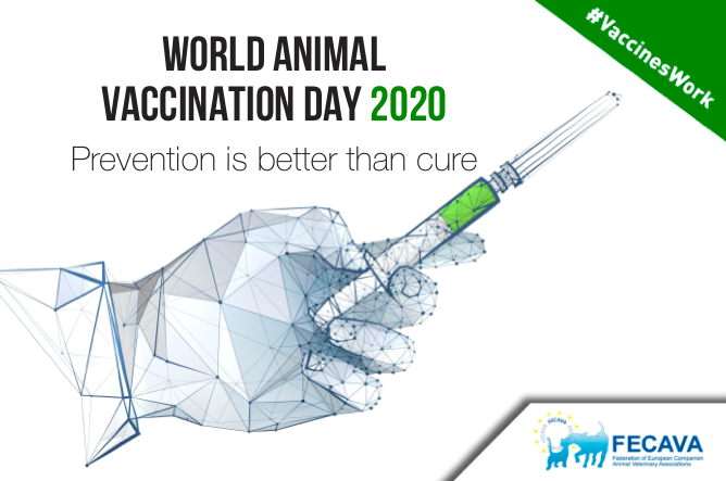 World Animal Vaccination Day: Prevention is better than cure (Joint AnimalhealthEurope, FECAVA, FVE press release)