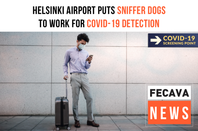 Helsinki airport puts sniffer dogs to work for COVID-19 detection