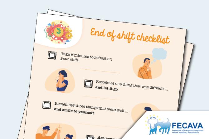 End of Shift Checklist