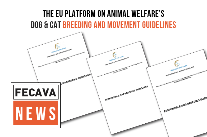EU Platform on Animal Welfare: Responsible dog breeding and movement guidelines