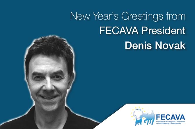 New Year's Greetings from FECAVA President  Denis Novak