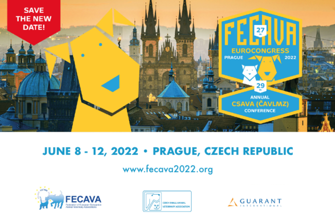 FECAVA EuroCongress in Prague postponed from September 2021 to June 2022