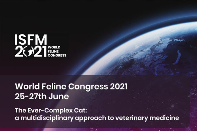 ISFM World Feline Congress 2021 online