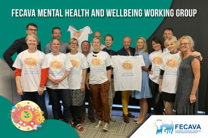FECAVA shows commitment to Mental Health by co-signing Mind Matters International Joint Statement